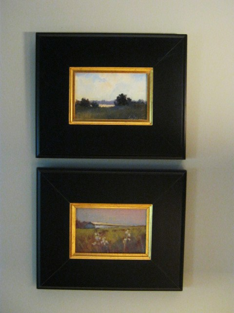 connie snipes framing small paintings
