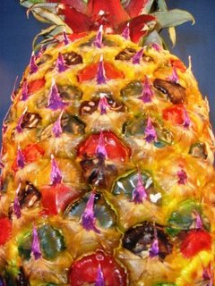 "The much talked about ""Inked pineapple!"""
