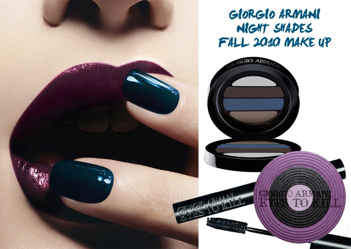 MAKEUP// ARMANI MAKE UP COLLECTION FALL 2010