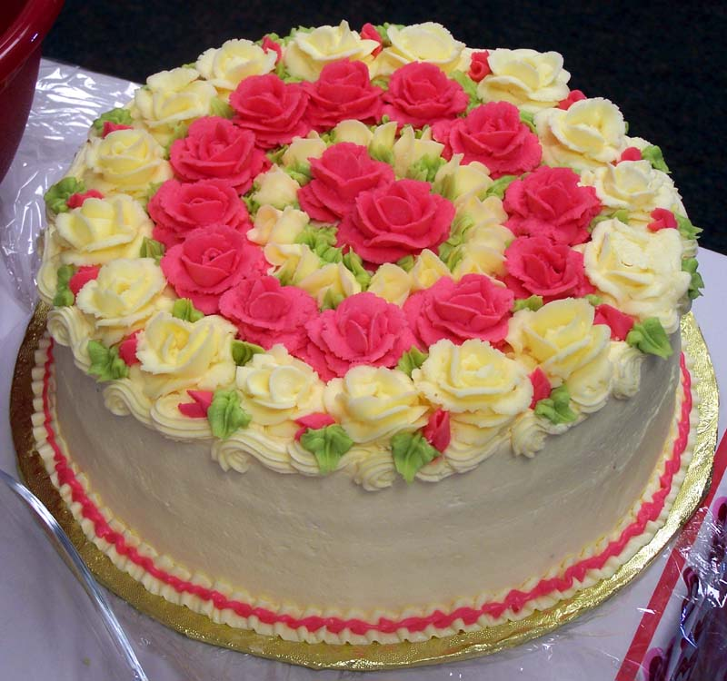 The Business of Weddings: Speaking of Buttercream Roses....