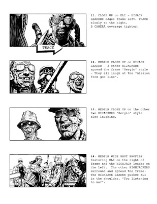 Book Of Eli Storyboards