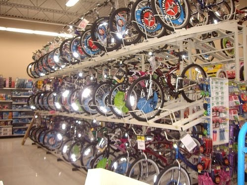 Walmart Toys Department : Ray s life cycle walmart bicycle vs bike shop