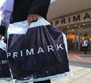 After a hard day in Downing Street - a visit to Primark