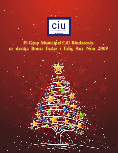 Bon Nadal i Feliç Any Nou 2009