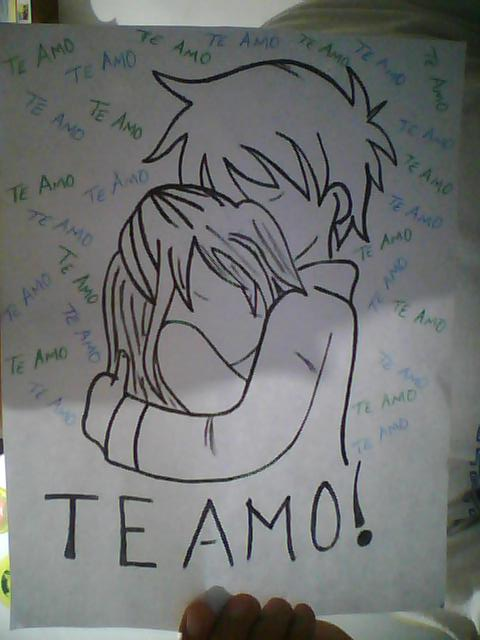 Dibujos de te amo mucho - Imagui