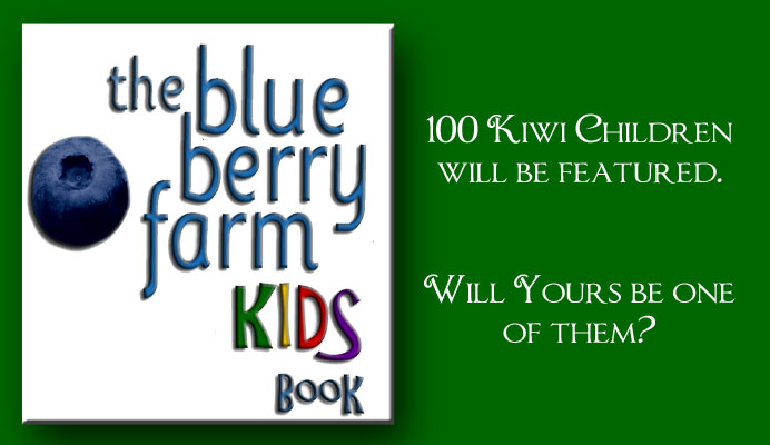 The Blueberry Farm Kids Book