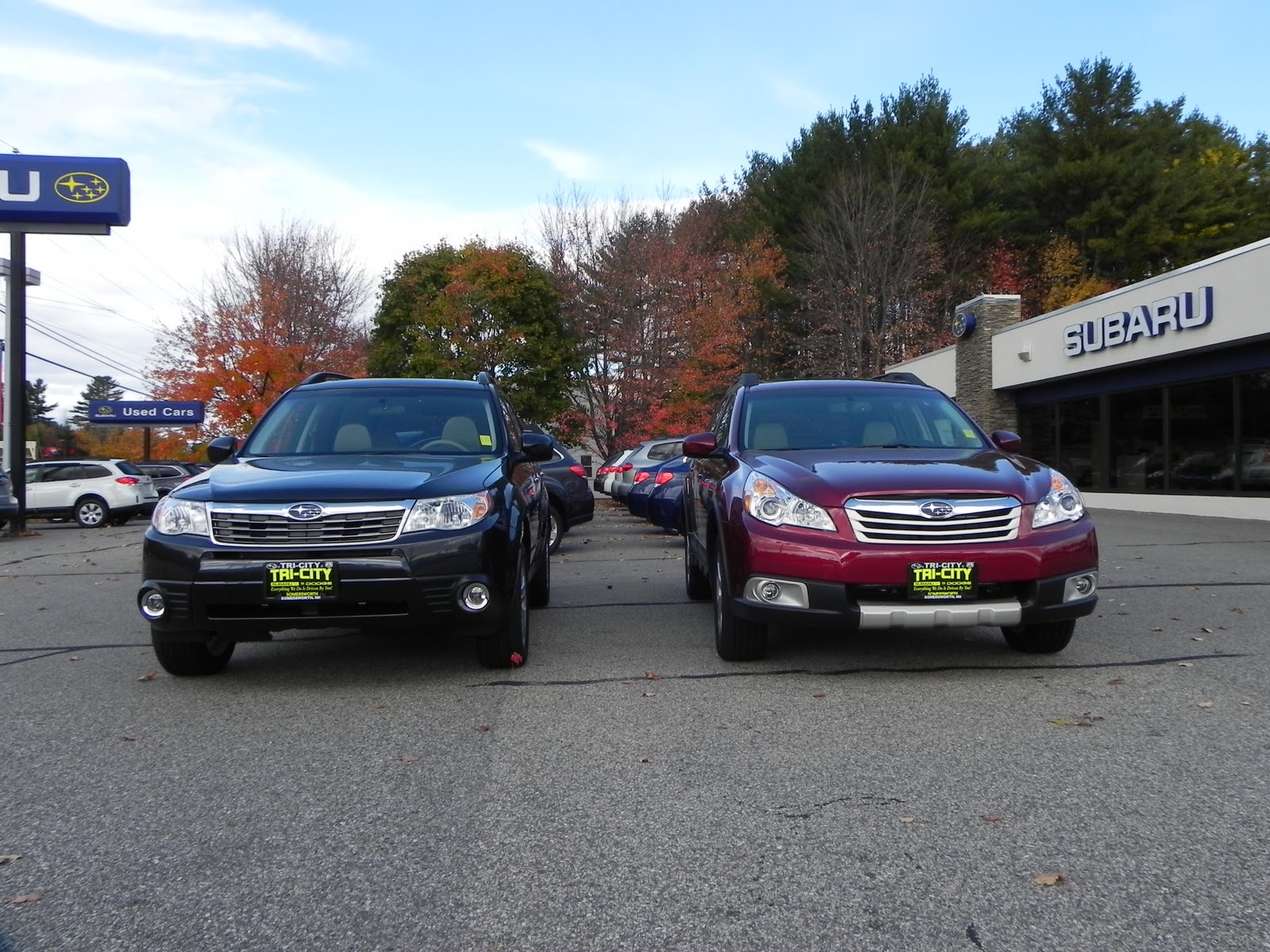 Tri City Subaru 2011 Outback vs 2011 Forester side by side