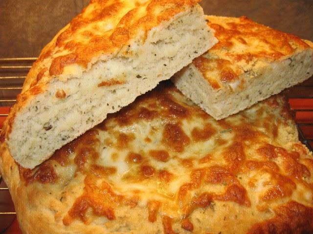 Coleen's Recipes: CHEESY FOCACCIA
