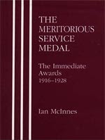 Meritorious Service Medal  1916-1928