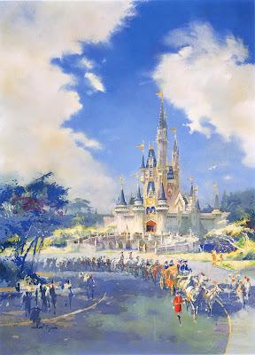 Tokyo Disneyland Artwork