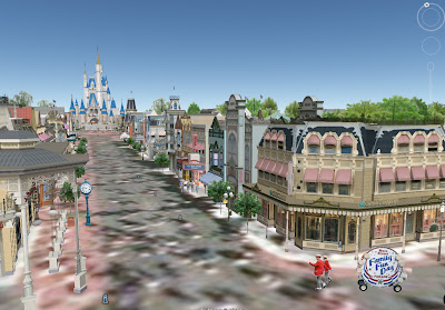 Exceptional Last Year Walt Disney World Was Fully Re Created In 3D On Google Earth, And  I Must Say That The Work Done By The Google Guys Was Outstanding.
