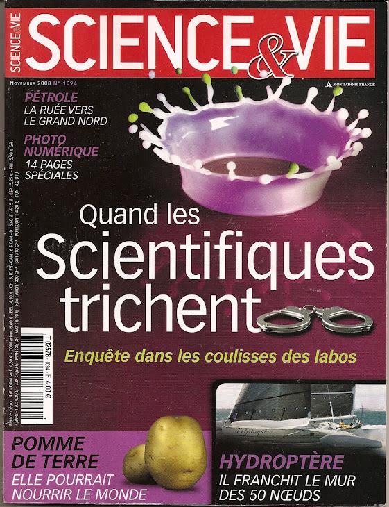 SCIENCE ET VIE DE NOVEMBRE 2008