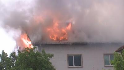 Пожар във Владимировци