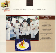 MALAYSIAN CULINARY TEAM TO CULINARY WORLD CUP IN LUXEMBOURG 2002