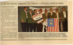 MALAYSIAN CULINARY NATIONAL TEAM TO VIENNA,AUSTRIA 2001