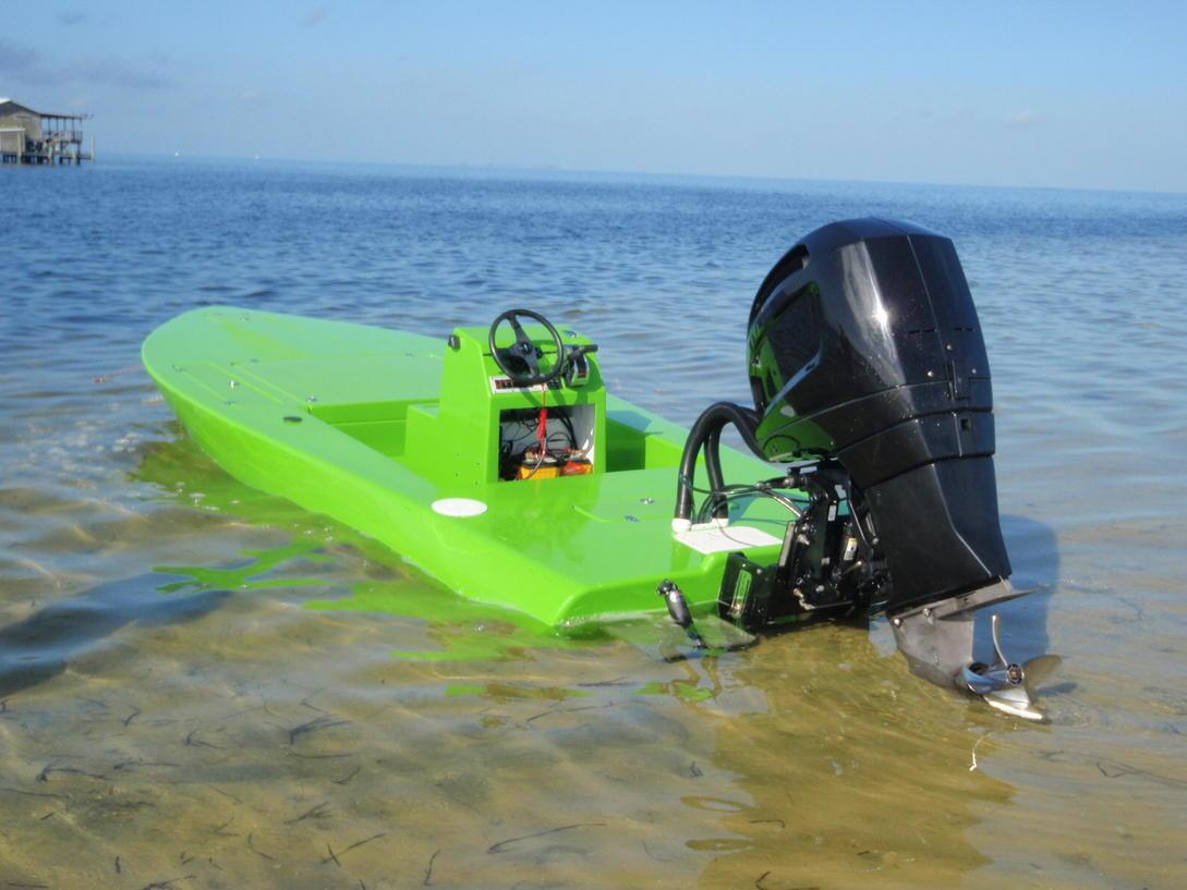 Sleekcraft Allison Flatsboat with SeaDek | SeaDek Marine ...