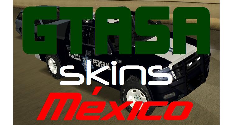 GTA SA Skins México