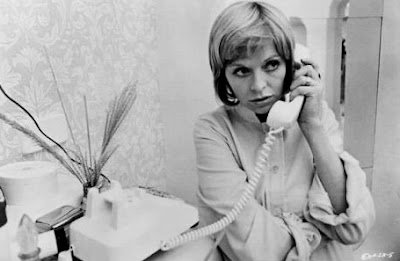 Susannah York calling! Killer eyebrow, too.