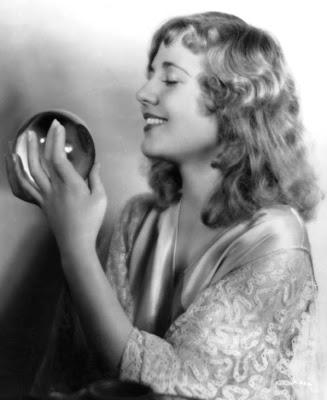Lois Wilson enjoys a ball.