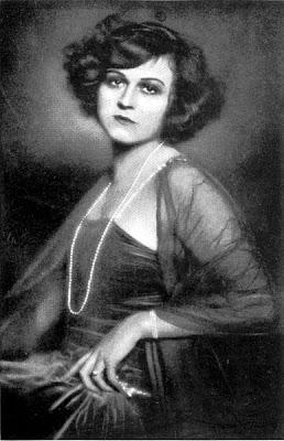 German silent film actress Hanni Weisse.