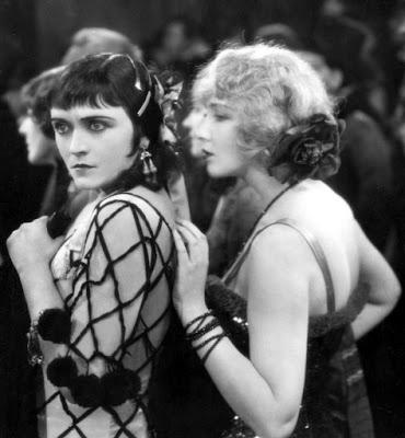 Pola Negri and friend.