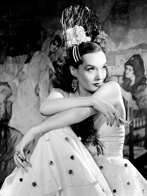 Lupe Velez having a private moment.