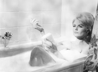 Martha Hyer gets clean.