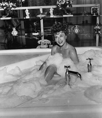 Bubbly Paulette Goddard.