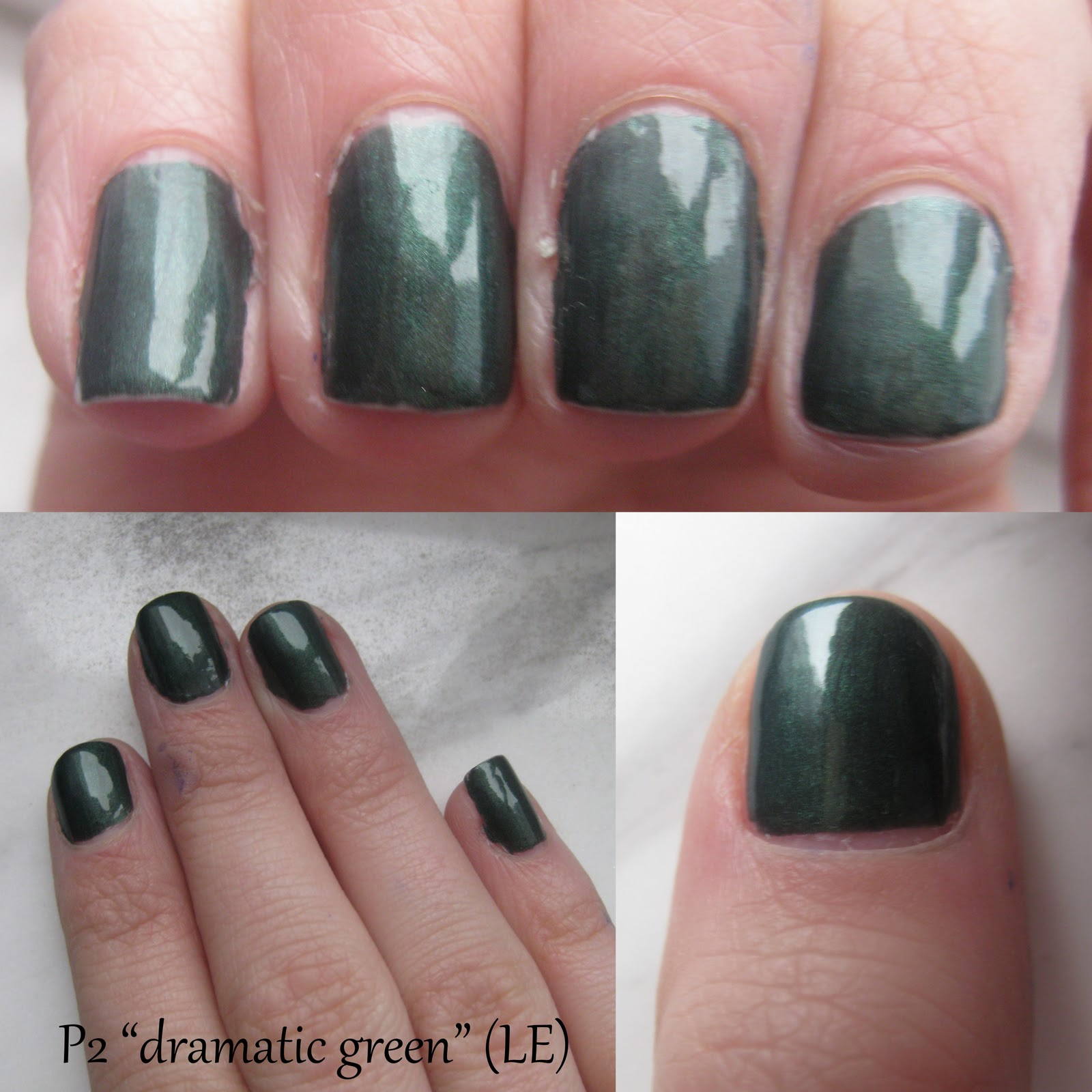 make up mehr notd p2 dramatic green. Black Bedroom Furniture Sets. Home Design Ideas