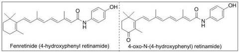 fenretinide, 4-oxo-fenretinide