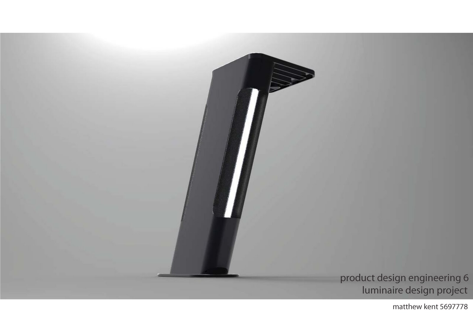 matt kent final concept luminaire design. Black Bedroom Furniture Sets. Home Design Ideas