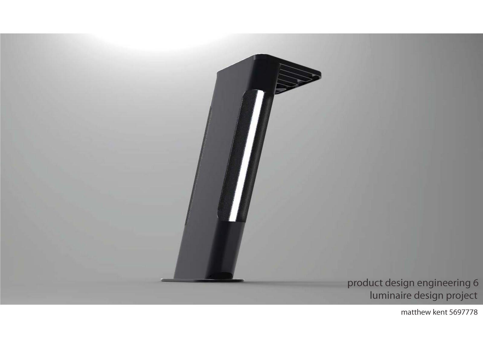Matt kent final concept luminaire design for Luminaire design