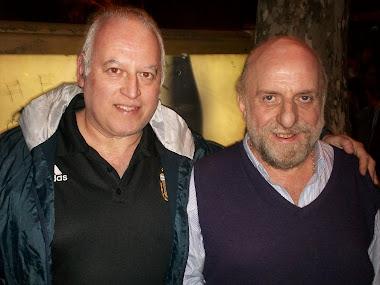 Con el maestro Pagani (Clarín)