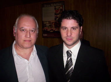 Con Rodolfo De Paoli (Canal 7)
