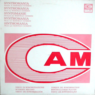 Marcello Giombini - Synthomania (1973)