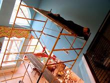 Dreamin' on a scaffold
