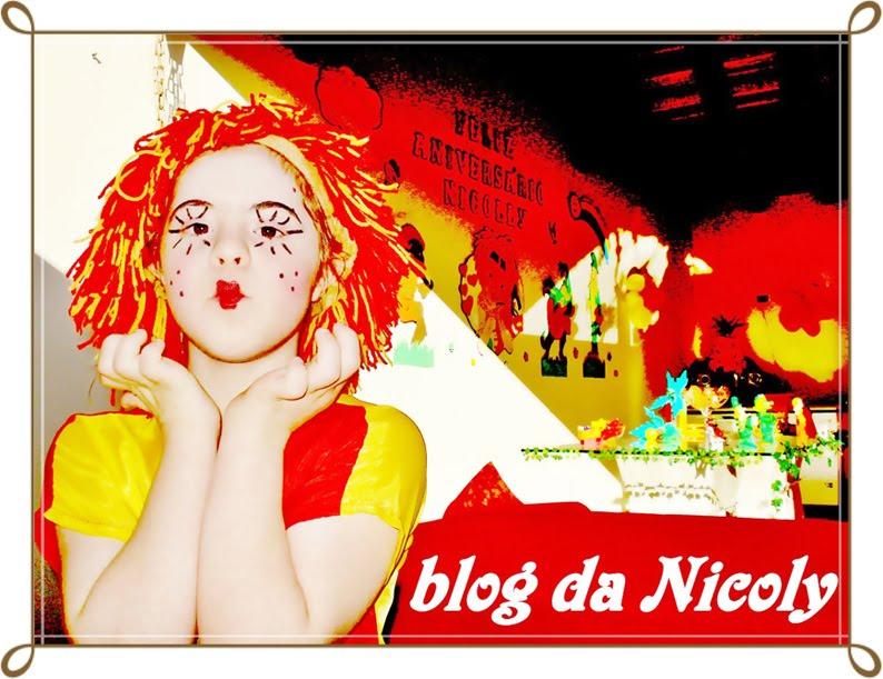 O blog da Nicoly