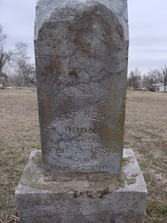 Robert Herman Odom headstone