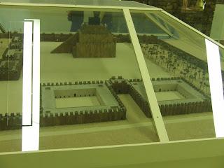 makieta muzeum pergamońskie brama babilońska