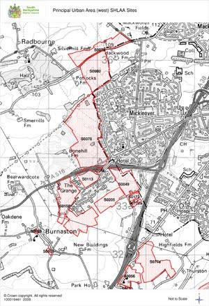 Say No to Mickleover Sprawl - Maps