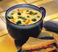 GARLIC VEGETABLE SOUP