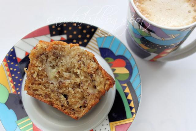 muffiny bananowe chleb bananowy Sophie Dahl chlebek bananowy