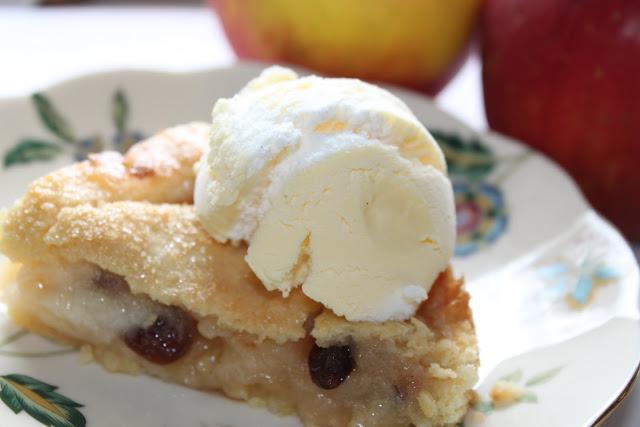 szarlotka jabłecznik z lodami apple pie amerykańska