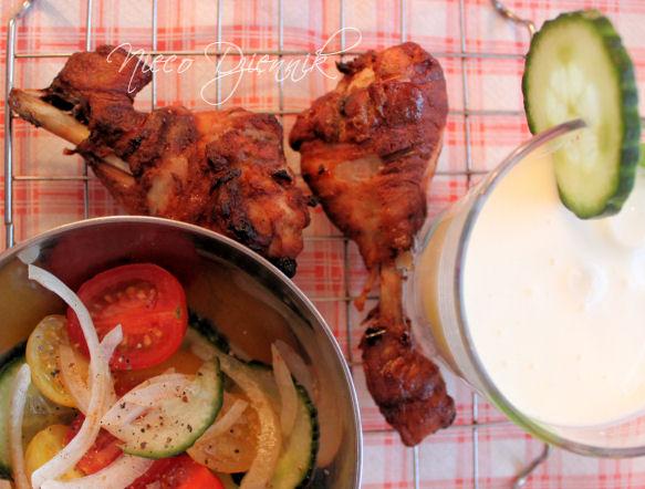 Dukan Dukana kurczak tikka lassi