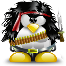 Image Credit:'Rambo Tux' by Satang at http://tux.crystalxp.net/en.id.2036-santang-rambo-tux.html License:Creative Commons BY-NC-SA