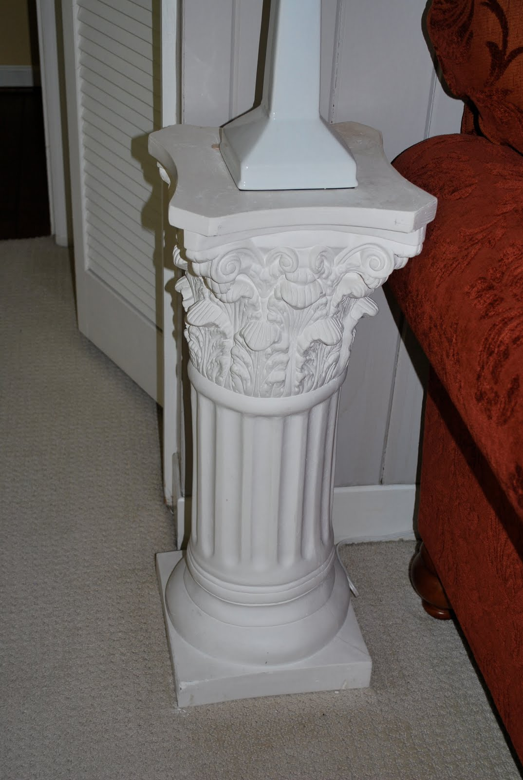 column wood plaster images pedestals on pedestal carved best pinterest