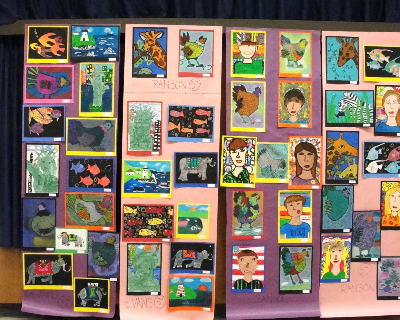 Deep space sparkle art lessons for kids elementary school for Art craft shows