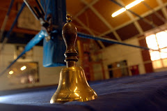 The most important sound in a boxers life. The sound of the bell