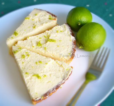 From My Lemony Kitchen ....: Florida Key lime pie