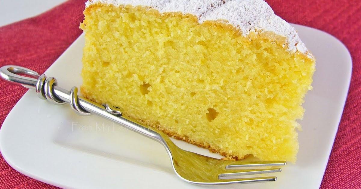 Lemon Sour Cream Cake Women S Weekly